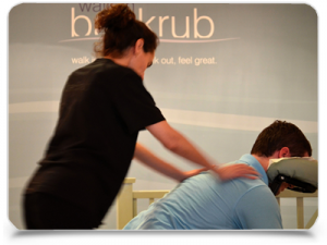 Corporate massage in the workplace